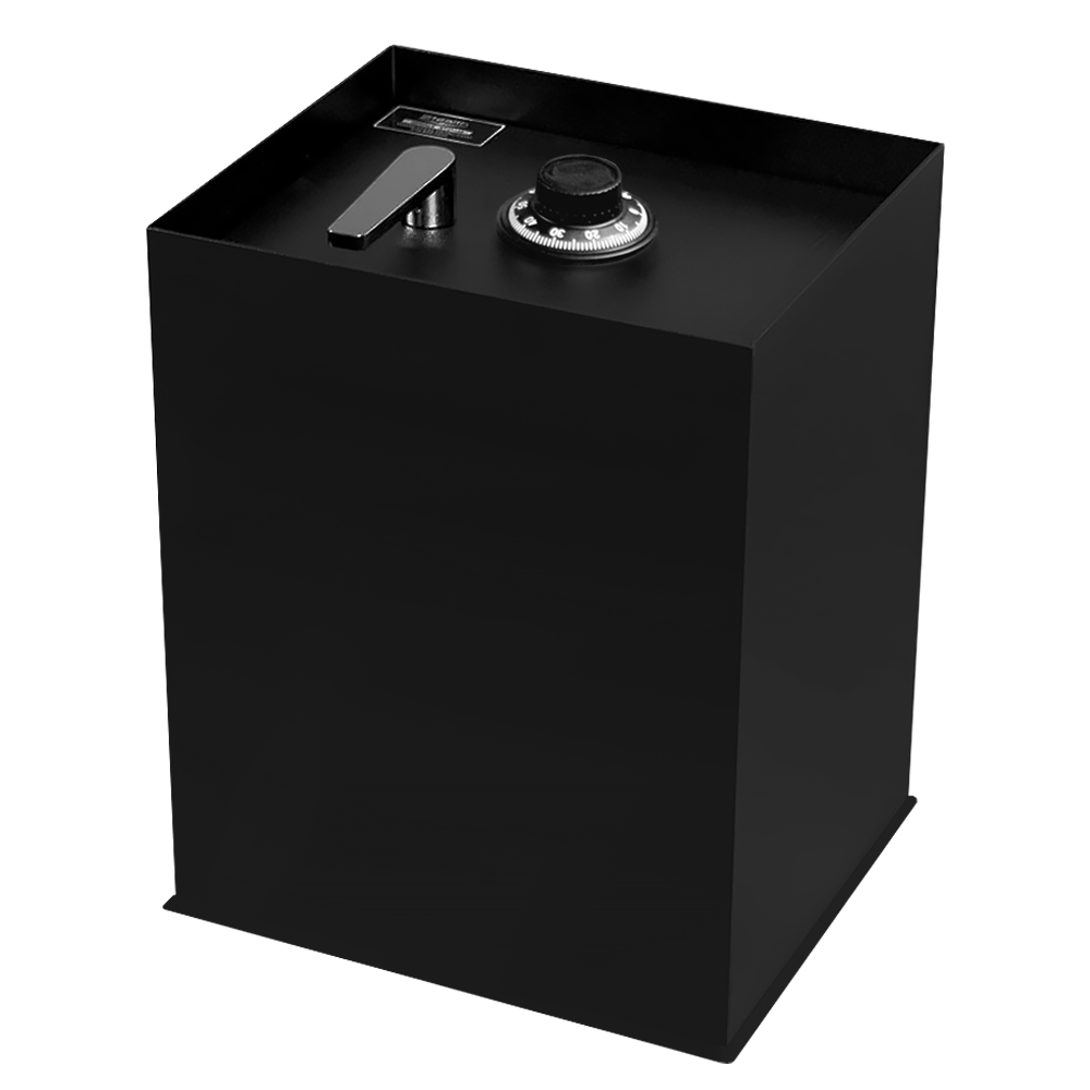 Stealth B2500 Floor Safe with Mechanical Dial Lock Option