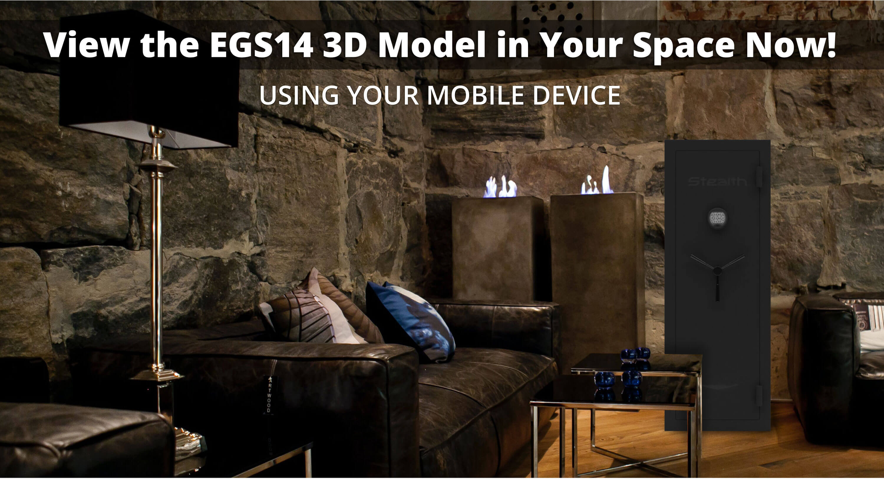 Stealth EGS14 Economy Gun Safe 3D Model and Augmented Reality Experience Available