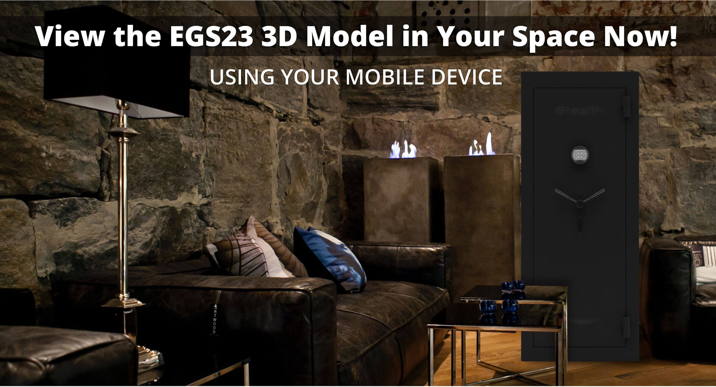 Stealth EGS23 Economy Gun Safe 3D Model and Augmented Reality Experience Available