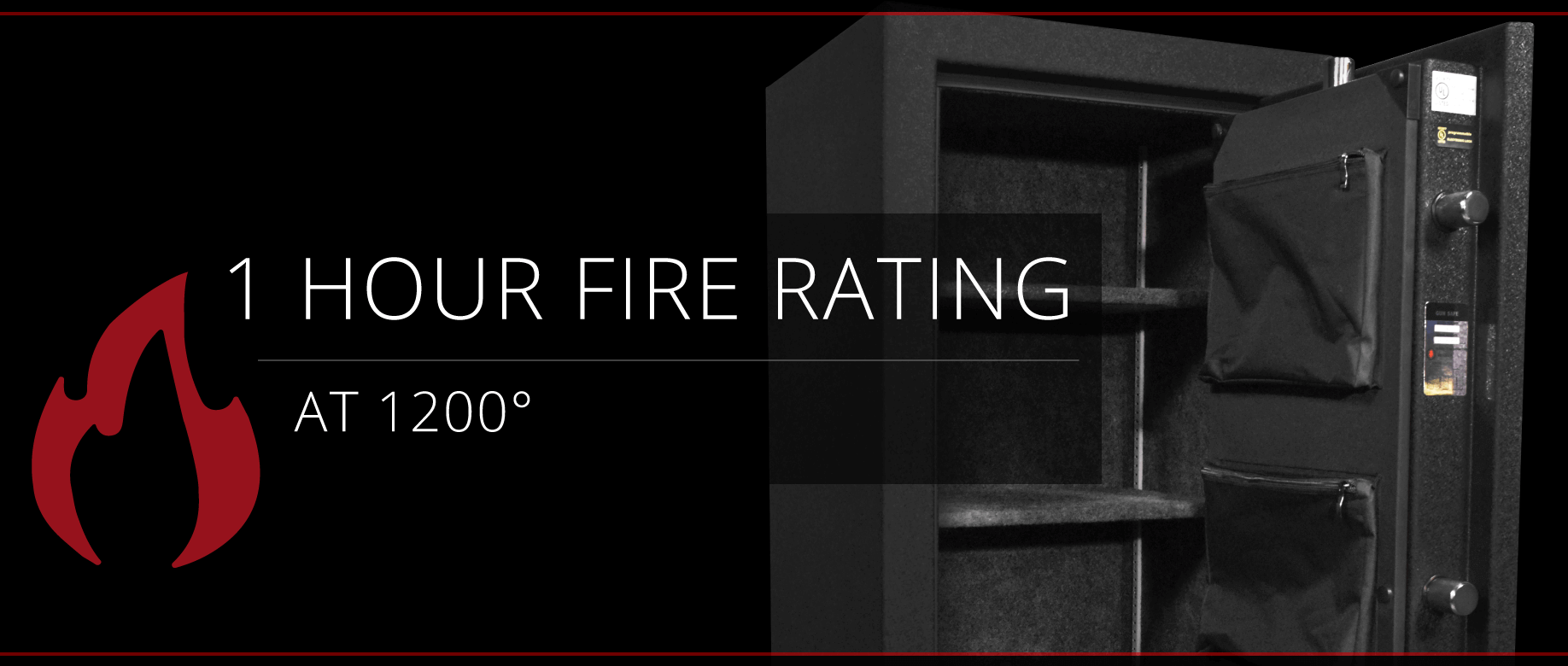 Stealth HS14 UL Home Safe 1 Hour Fire Rating