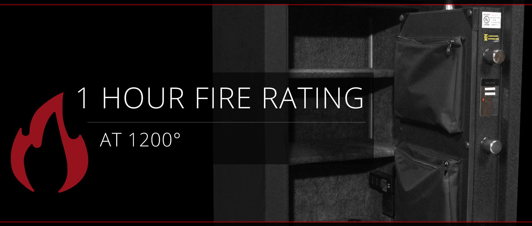 Stealth HS8 UL Home Safe 1 Hour Fire Rating
