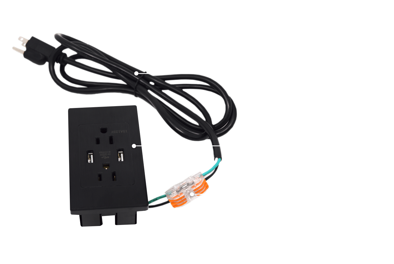 Stealth Power Outlet Electrical Kit