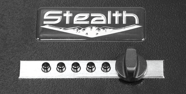 Stealth Portable Handgun Safe Simplex Lock
