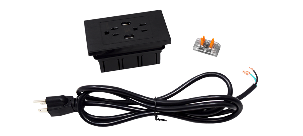 Stealth Electrical Power Outlet Kit Adds Power inside your Gun Safe