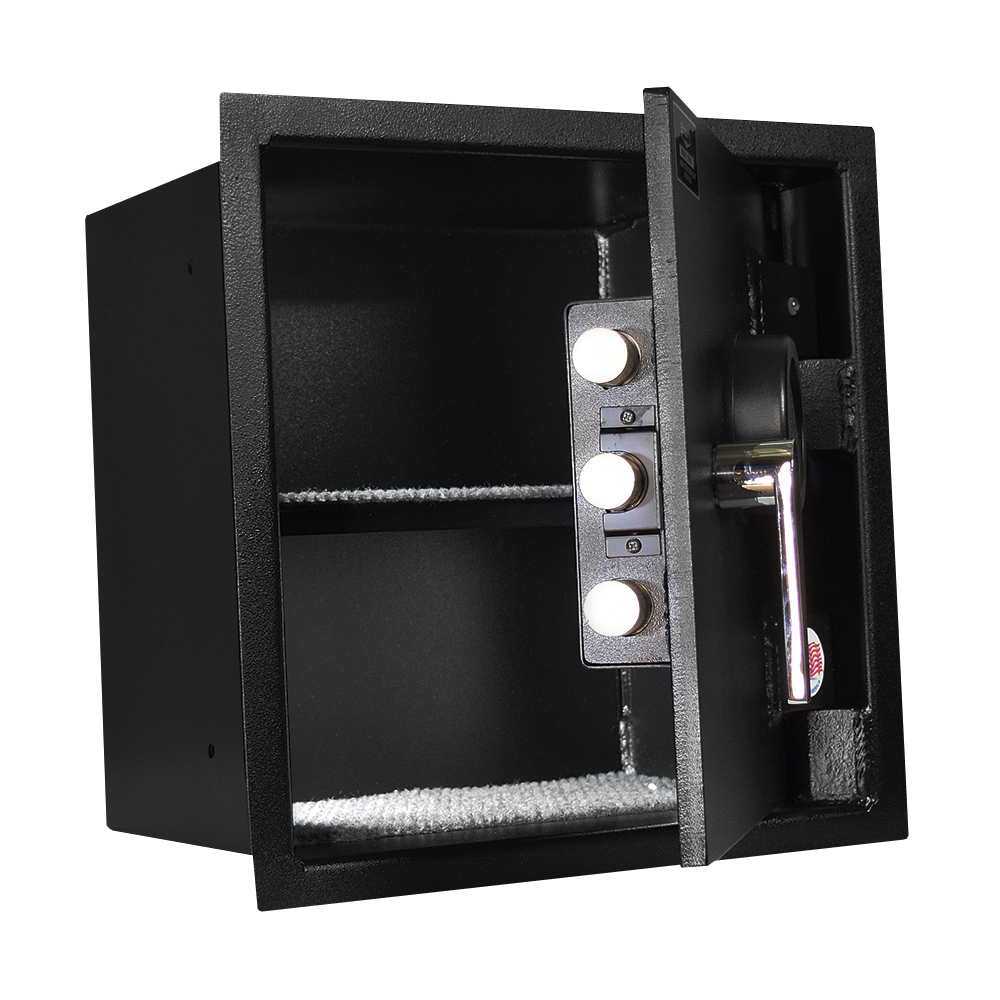 Stealth WSHD1414 Wall Safe with Heavy Duty 12 Gauge Door and Body