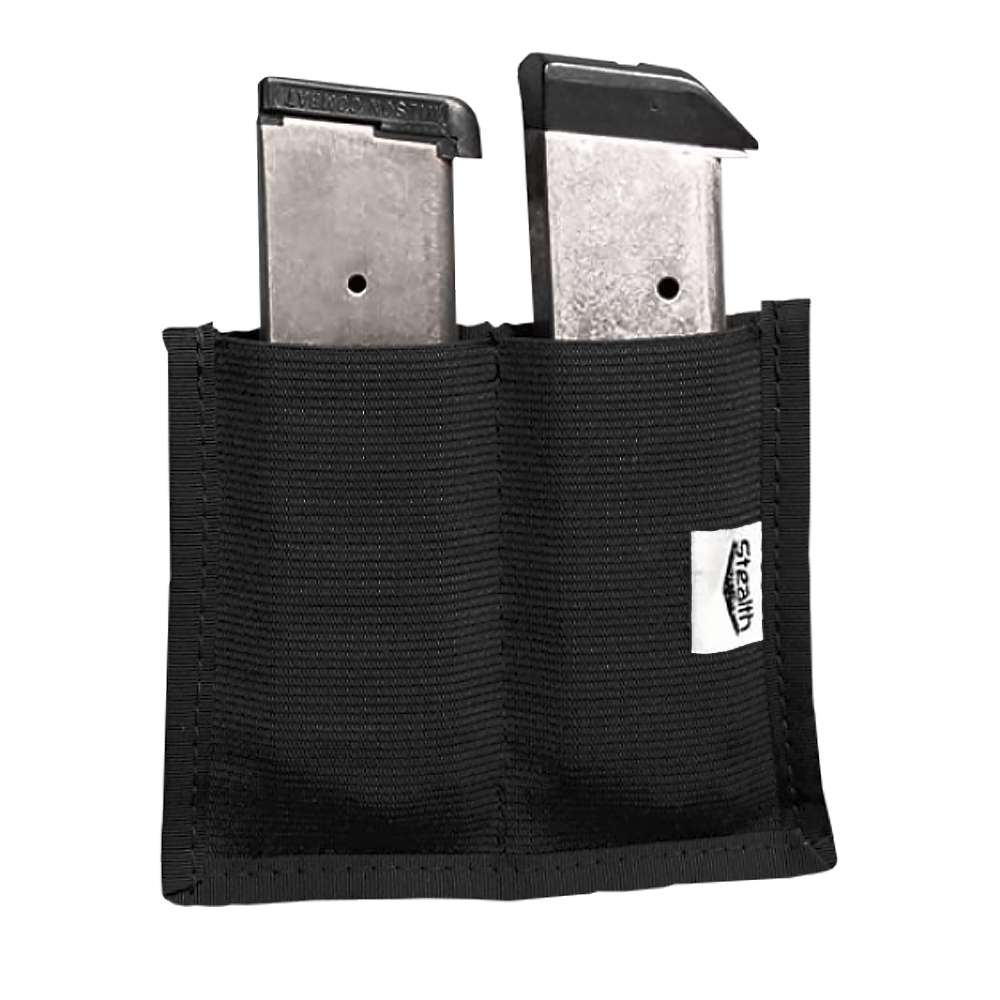 Stealth Velcro Double Magazine Pouch