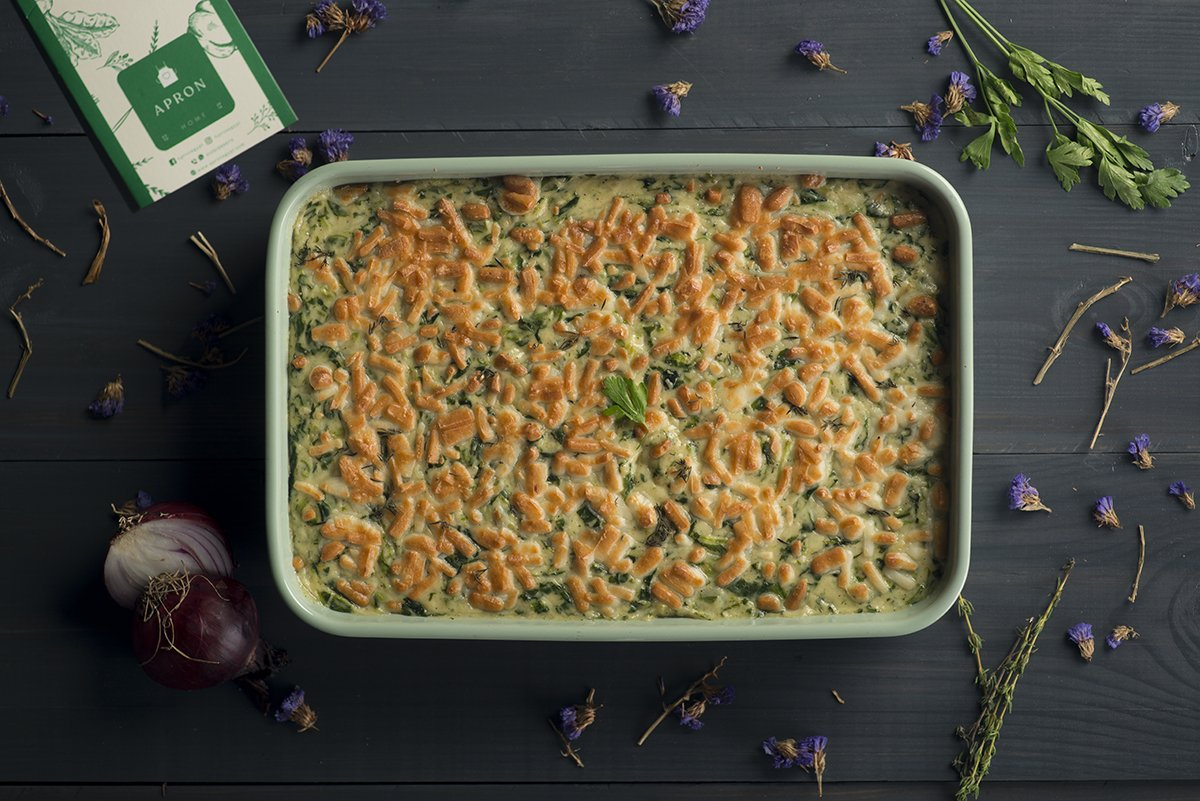 Spinach Gratin - Apron Egypt