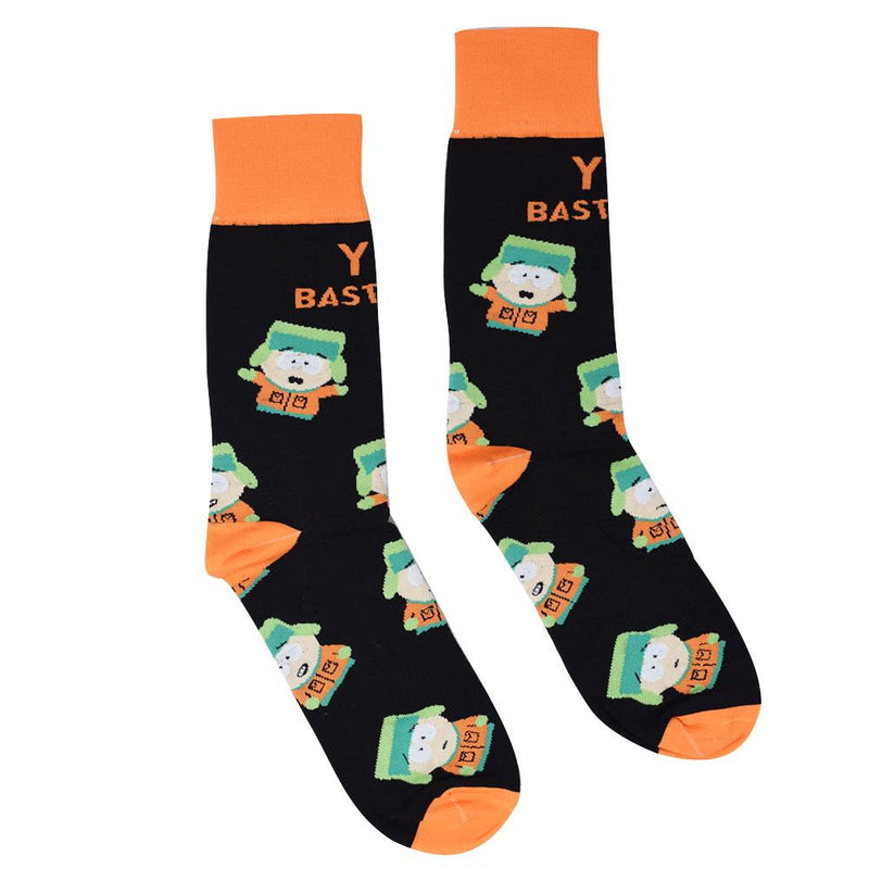South Park Kyle You Bastards Socks
