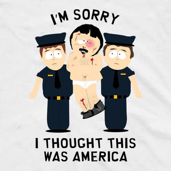 South Park Randy I Thought This Was America Adult Short Sleeve T-Shirt