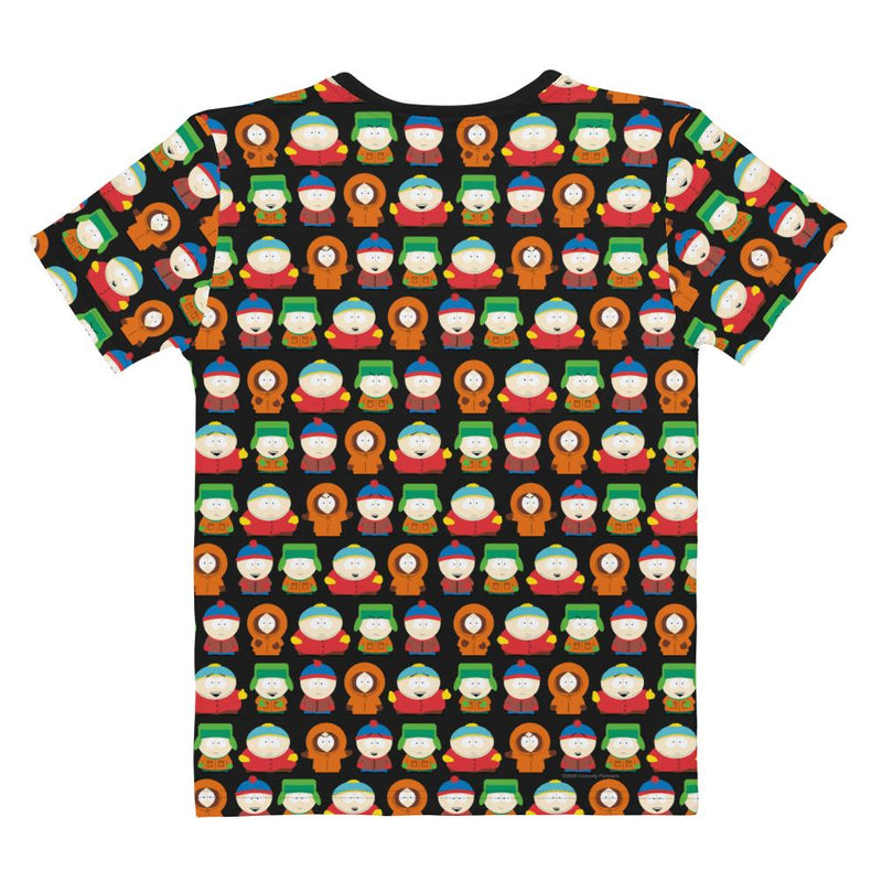 South Park Kenny Women's All-Over Print V-Neck T-Shirt