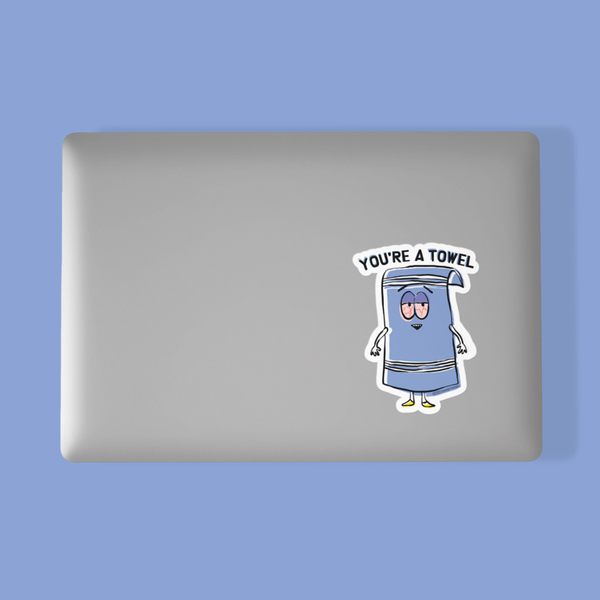 South Park Towelie Die Cut Sticker