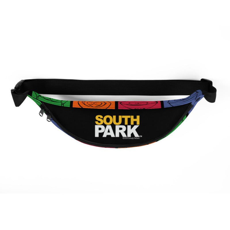 South Park Character Grid Premium Fanny Pack