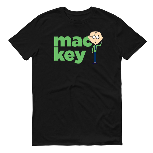 South Park Mackey Name Adult Short Sleeve T-Shirt
