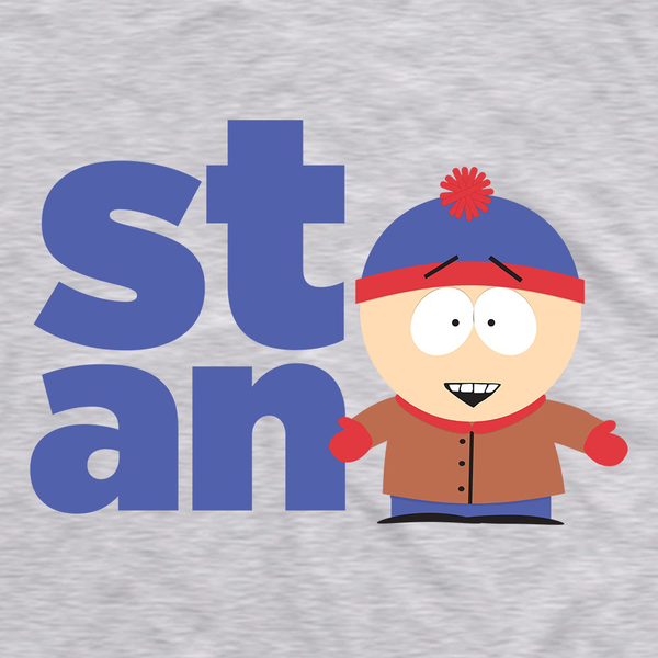South Park Stan Name Adult Short Sleeve T-Shirt