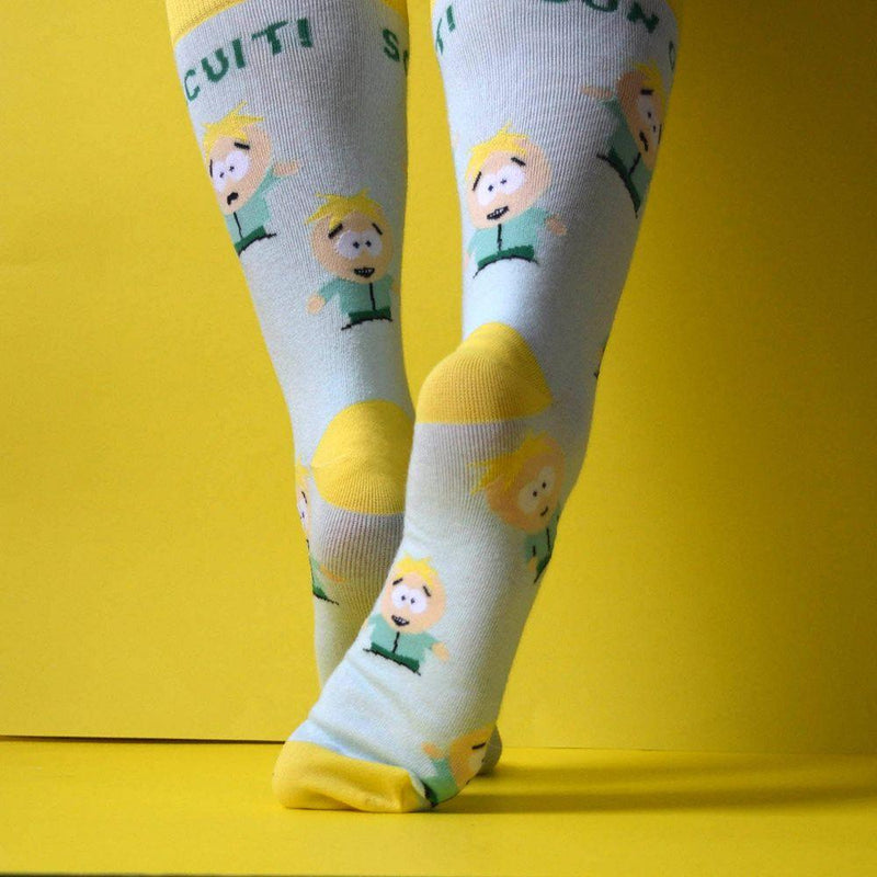 South Park Butters Son of a Biscuit Socks
