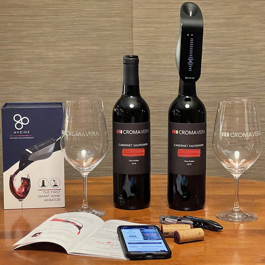 Aveine Smart Aerator and Cabernet Sauvignon