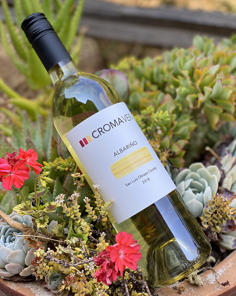 Bottle of Albariño 2018