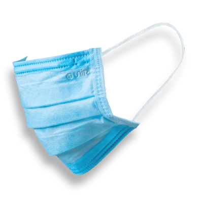 Masque chirurgical type II Enfant (+11 ANS) - Made in France - Boîte de 50 - SolucomÉditions.fr