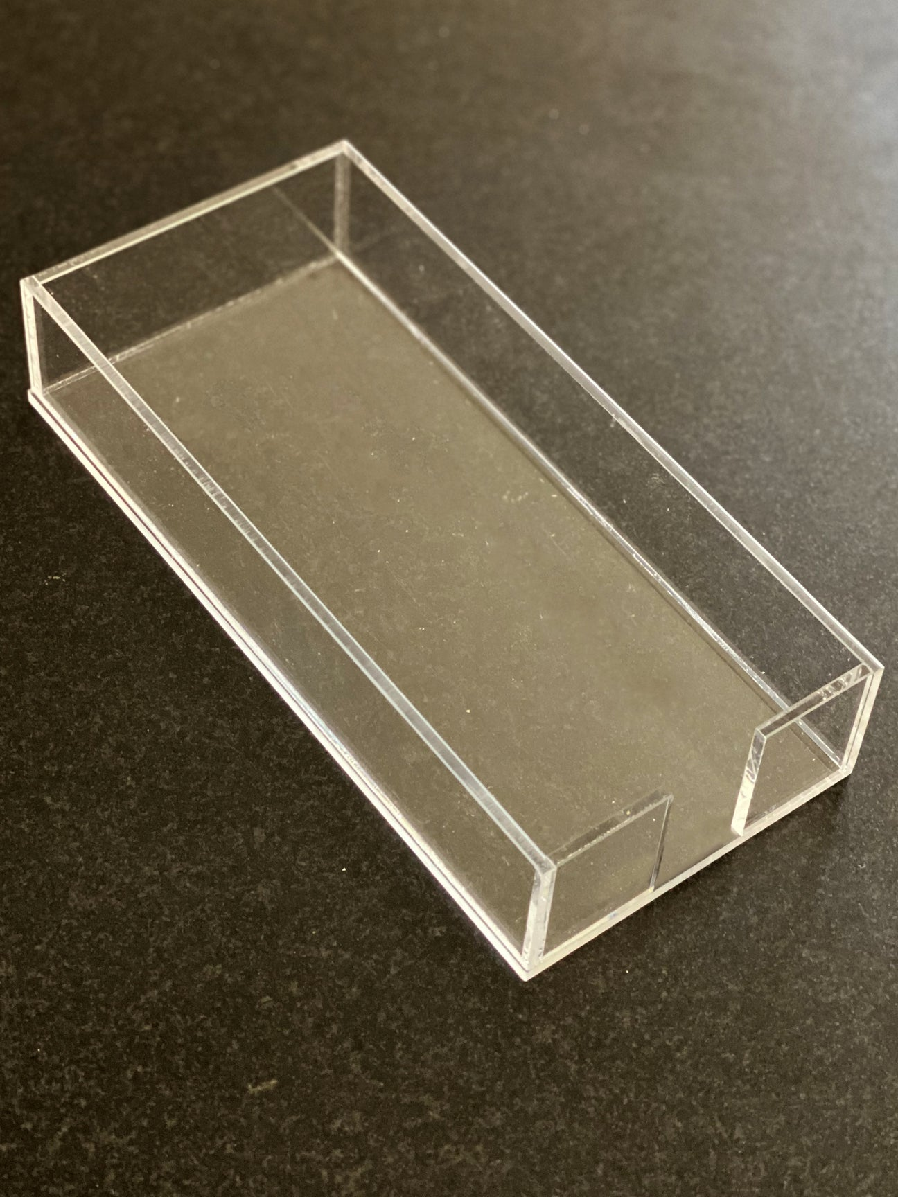 Lucite Trays - Buck 12-Pack