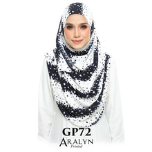 Load image into Gallery viewer, Aralyn Printed Instant Shawl Raya 2021