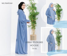 Load image into Gallery viewer, Telekung Jubah Hoodie By Milymaryam