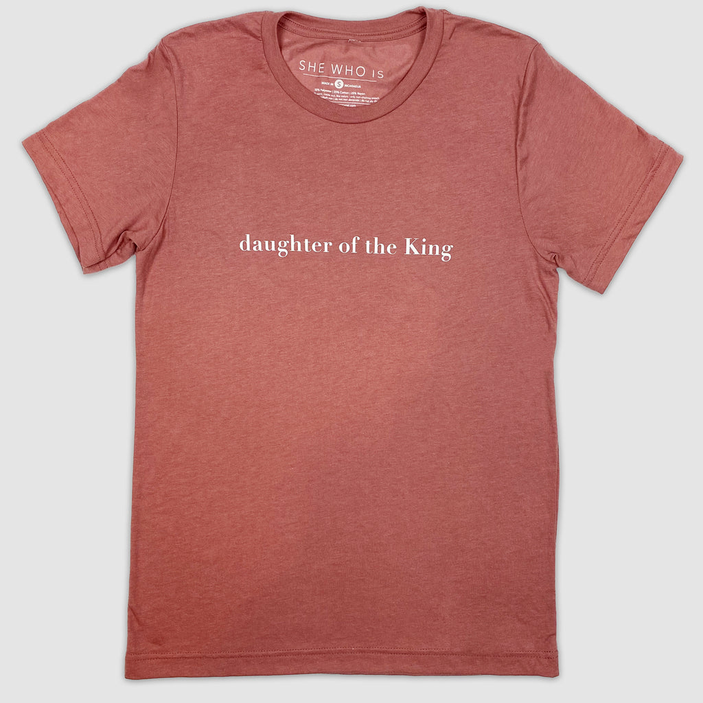 Daughter of the King Short Sleeve Tee
