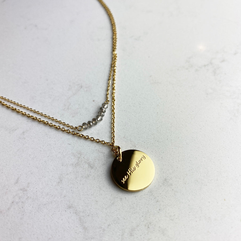 Morning Glory Necklace