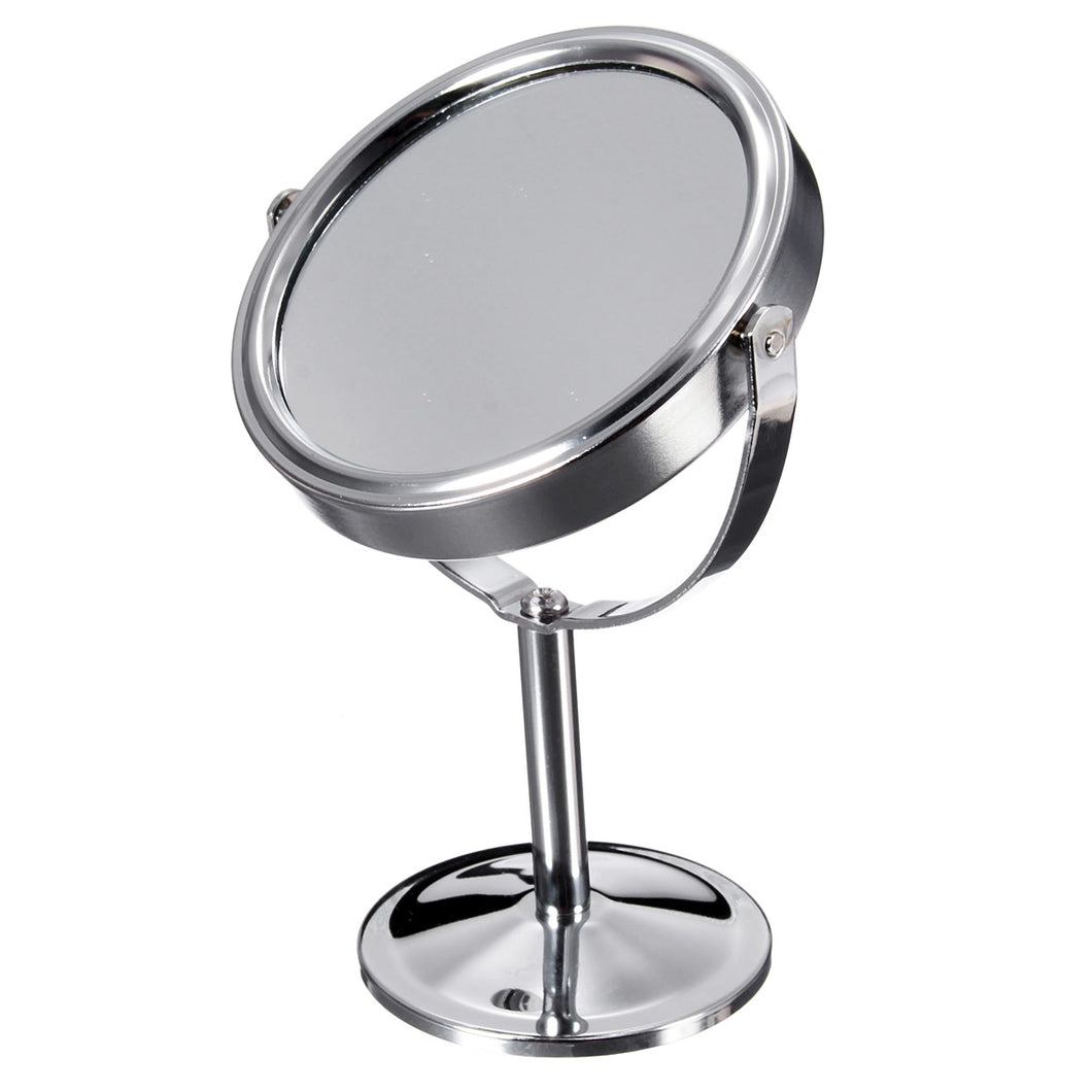 Magnifying Beauty Cosmetic Makeup Rotatable Portable Double Sided Mirror