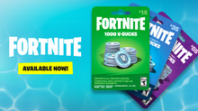Load image into Gallery viewer, Fortnite 1000 VBucks CODE (Fast Delivery)