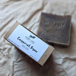 Caramel Brew Beer Soap