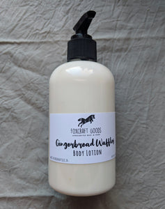 Gingerbread Waffles Body Lotion