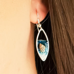 Beach Scene Earrings