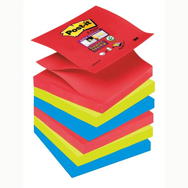post-it-blocco-90foglietti--super-sticky-z-notes-76x76mm-r330-6ss-jp-bora-bora