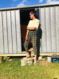 Plaid Trousers (Fit 8/10)
