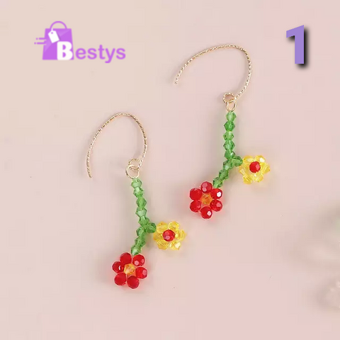 Fashion Acrylic Dangle Earrings