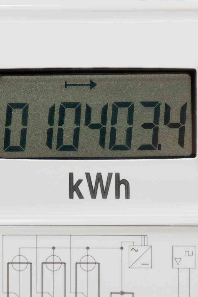 Power consumption kwph
