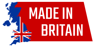 Made in Britain logo showing that this product has been handmade in the UK by Easterkins