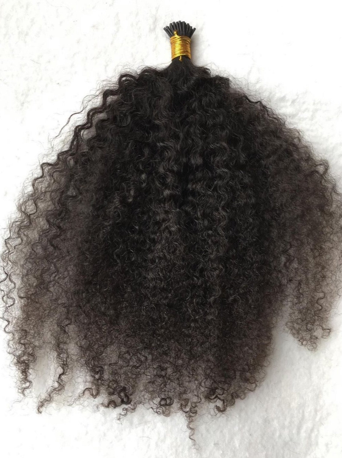 Kinky Curly I-TIP Extensions