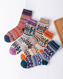 Thick Thread Rabbit Wool Socks