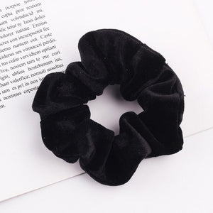 Velvet Scrunchie Women Girls Elastic Hair Rubber Bands Accessories Gum For Women Tie Hair Ring Rope Ponytail Holder Headdress