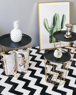Diamond Basket Table