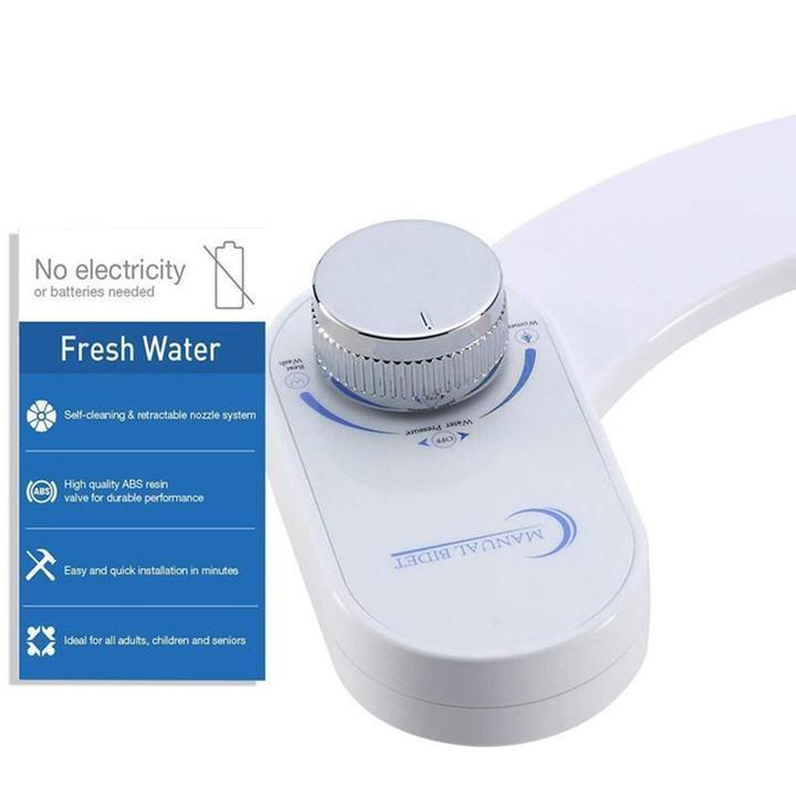 Fresh Water Bidet Toilet Attachment