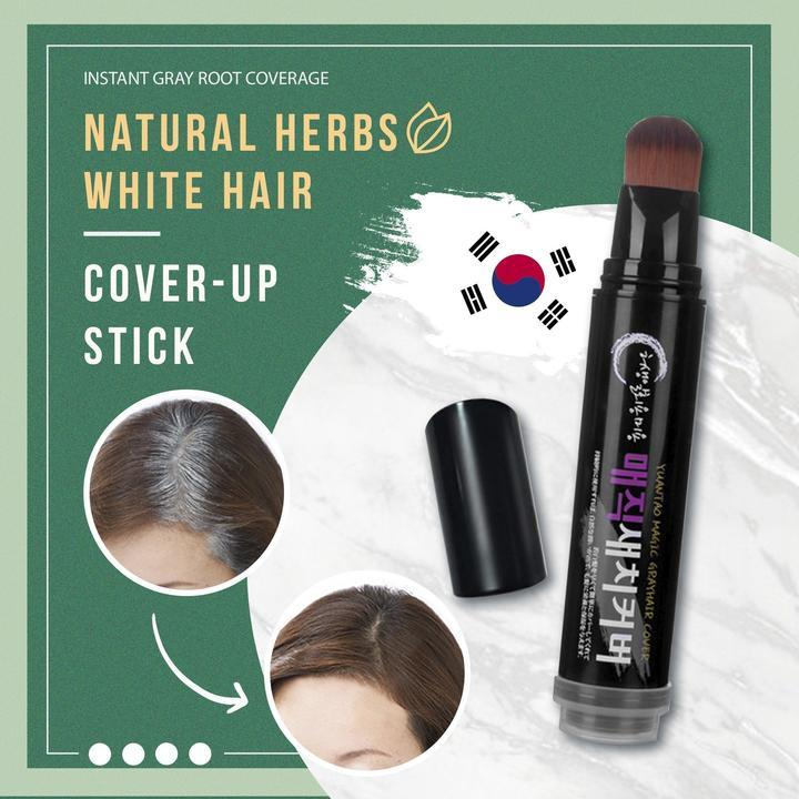 Natural Herbs White Hair Cover-Up Stick