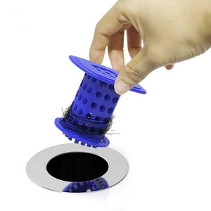 Revolutionary Tub Drain Protector Hair Catcher/Strainer