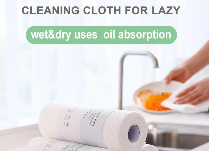 Disposable Kitchen Wet & Dry Cleaning Cloth