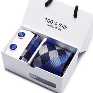 Plaid Men Ties