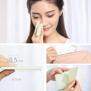 Green Tea Oil Absorbing Facial Papers