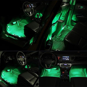 Car Interior LED Lights (4PCS)