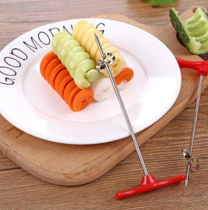 Fruit and Vegetable Coiler