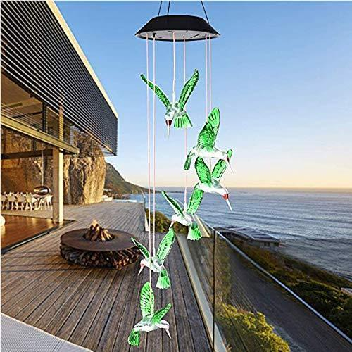 Solar Hummingbirds Decorative Lights